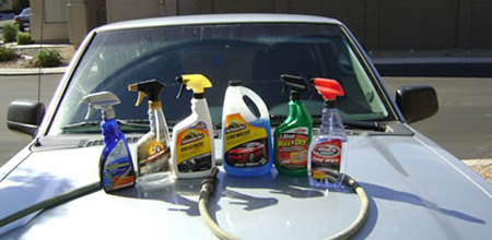 Car washing detergents